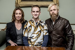 """Carsten Bjørnlund spiller en af hovedrollerne i DR-dramaet """"Liberty"""", og det har været hektisk og kaotisk."""