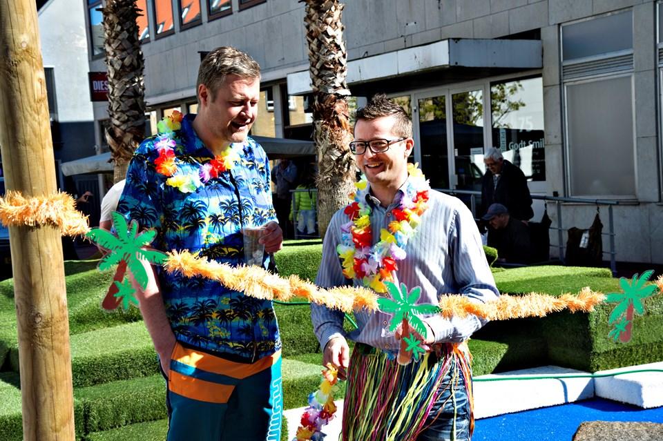 Hans Christensen og Kurt Bering (fotos)
