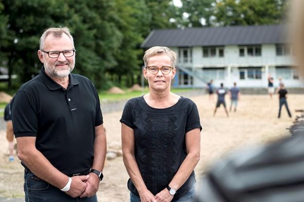 Anne Helene Kahr Thomsen og Daniel Bygballe (foto)