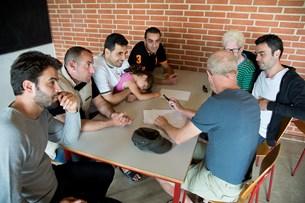Syrere på sommerlejr