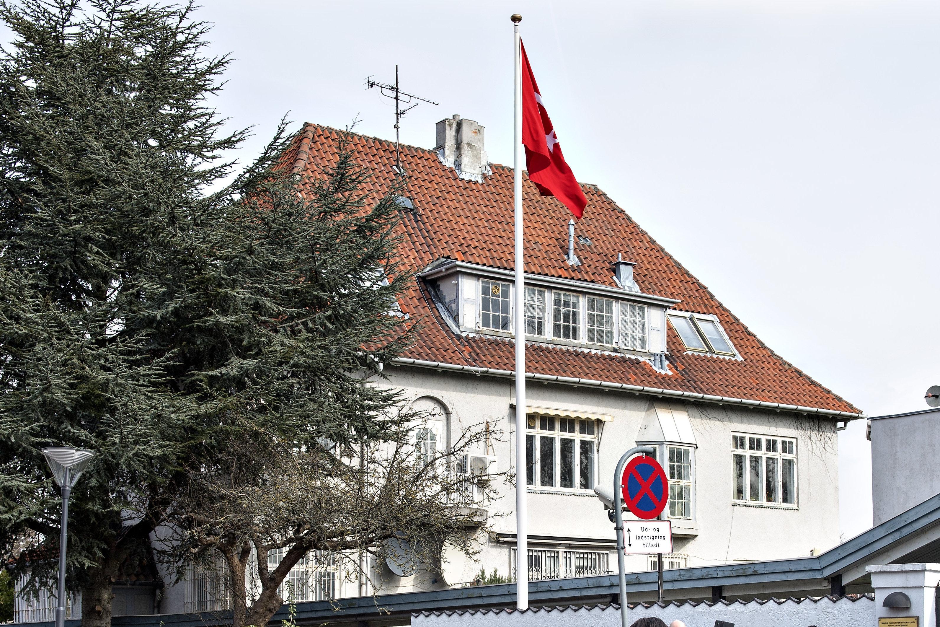 den tyrkiske ambassade danmark