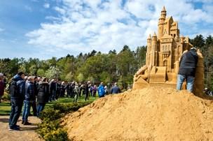 Fine fotos: Kunst i sand