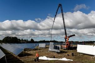 Åbent hus og indvielse af stort solfangeranlæg