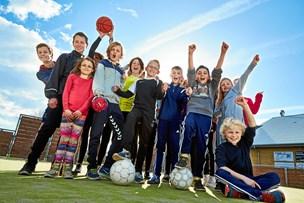Stor idrætsfestival for elever i Rebild