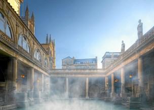 Rejsefortælling: Tag bad i Bath