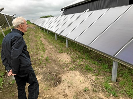 Solfangere for millioner indviet i Aalestrup