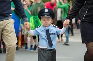 De yngstes karneval indtog Aalborg