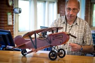 Fandt antikt modelfly
