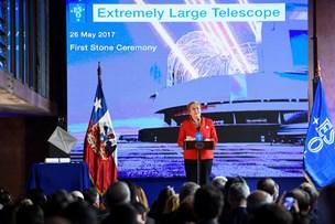 Byggeriet af verdens største teleskop er i gang