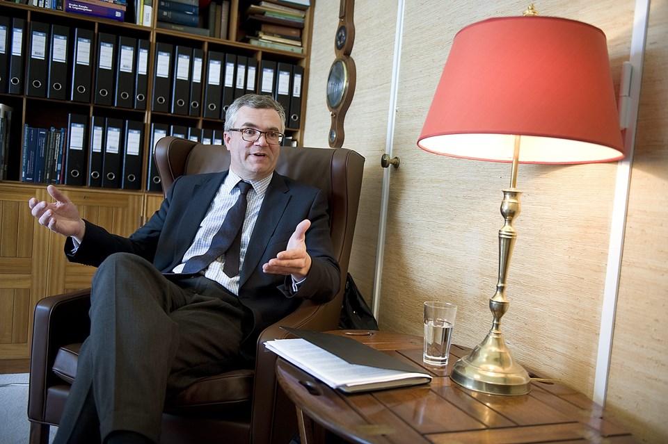 Christen Obel, bestyrelsesformand for Det Obelske Familiefond