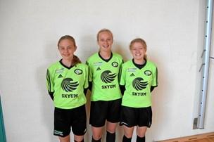 Talentfulde piger fra FC Thy