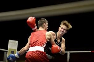 Pandrup-bokser ude af EMFrederik Lundgaard Jensen var overmatchet mod stærk russer