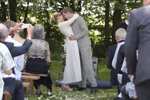 Bryllup og fest i Skovkatedralen