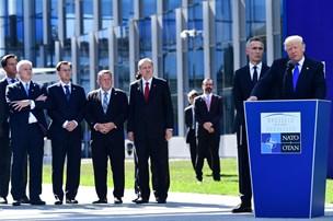 Løkke gik op mod Trump på Nato-topmøde