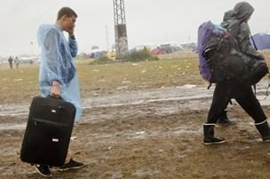 Festivalgæster må indstille sig på blæst og tordenbyger