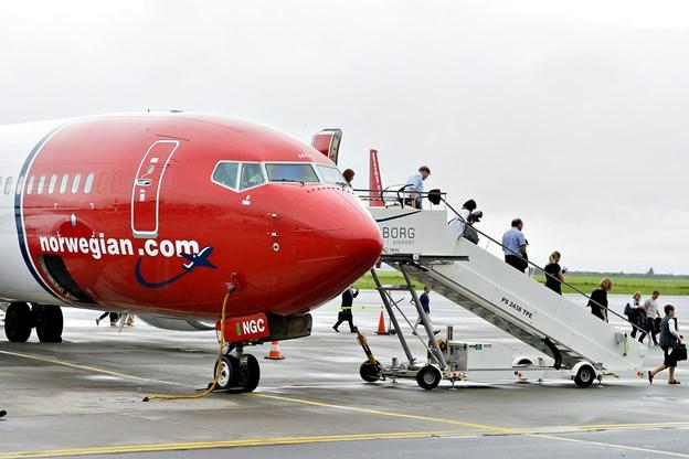 Norwegian aflyser fra Aalborg - mangler personale