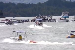 Turistbåd forlist i Colombia