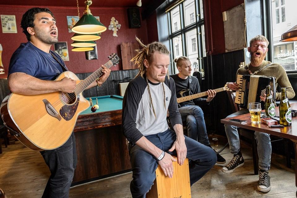 Morten Appel og Peter Broen (foto)