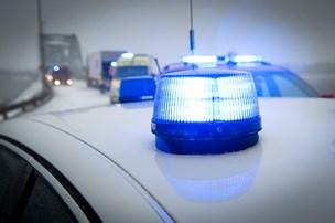 Politiet efterlyser halmvogn