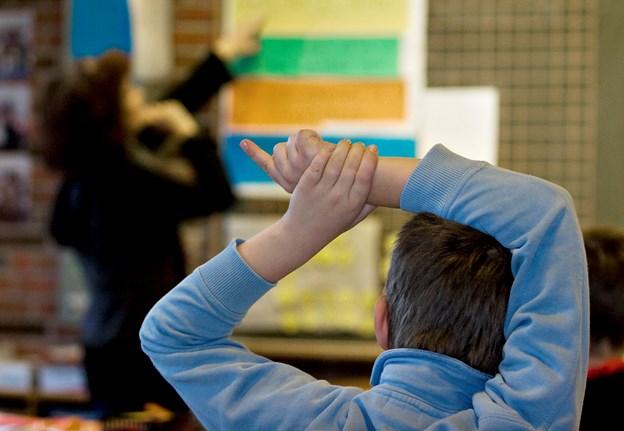 Vold mod lærere på dagsordenen
