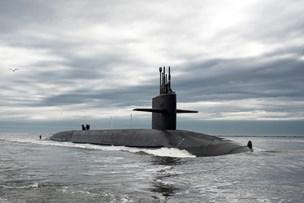 Verdens største atomubåd sejlede forbi Læsø
