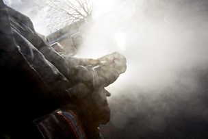 Brand ved galleri i Lønstrup
