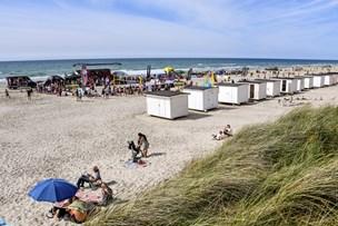 4-årig dreng blev væk på stranden