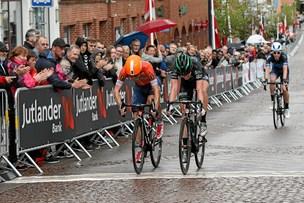 Knivskarp duel afgjorde cykelløb i Aars