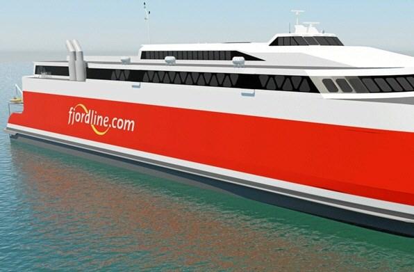 Fjord Line bygger nyt skib