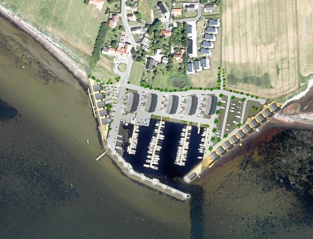 Store byggeplaner på havnen