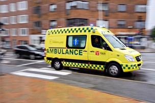 Ældre trækker på ambulanceberedskabet