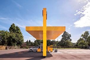 Tankstationer tegnet i Aalborg