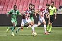 Safranko slår sig gerne for at score et mål