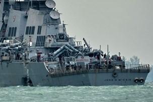 USA's flåde indleder stor granskning efter ny kollision
