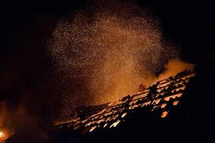 Havde dårlige minder: Satte ild til sin fars hus