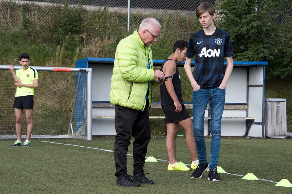 Emil Abkjær Kristensen og Henrik Bo (foto)