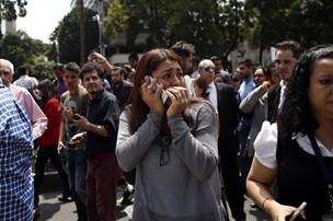 Mange er omkommet under kraftigt jordskælv i Mexico