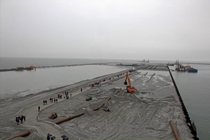 Oplev den store havneudvidelse helt tæt på