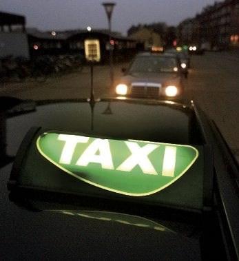 Taxi-betjening hele døgnet
