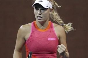 Wozniacki tævede verdensetter og er i syvende finale i år