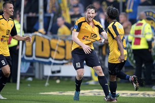 Se målene fra Hobros nederlag til Brøndby