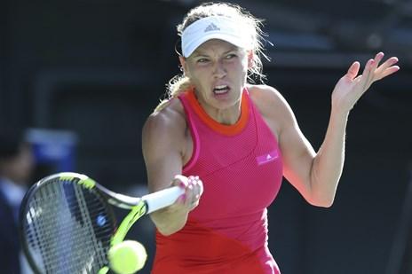 Wozniacki bryder finaleforbandelse