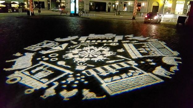 Lyset fortæller historien. Foto: Aalborg Kommune