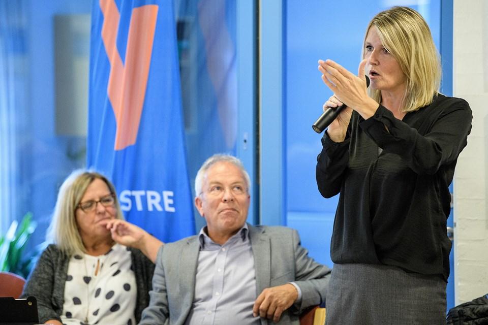 - Alle arbejder benhårdt, men vi har et anstændigt serviceniveau og jeg kan se alle i øjnene, sagde borgmester Birgit Hansen (S).