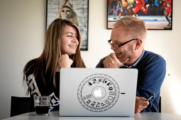 Dommerne, pressefotograferne Laura Guldhammer og Torben Hansen.