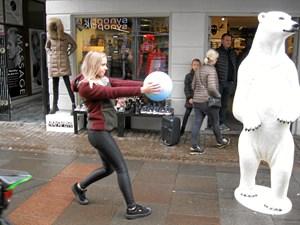 Dans i gaden