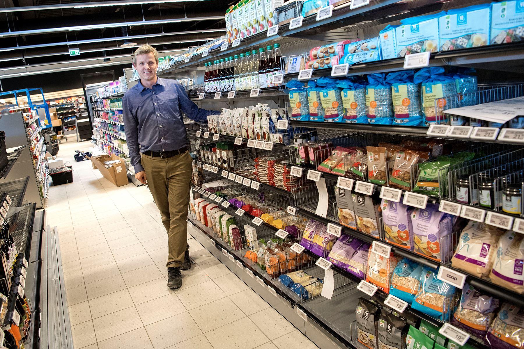 2. november åbner uddeler Per Vase Jensen og hans medarbejdere den ny SuperBrugs Nordhavnen i Nørresundby