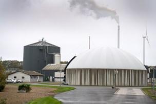 Biogasanlæg skal udvides