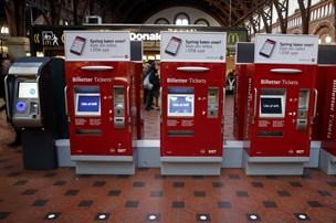 It-fejl skaber problemer for DSB's billetsalg