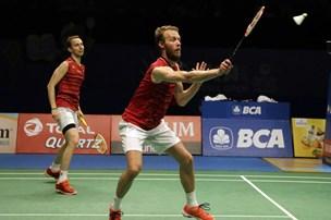 Verdensmestre slår Boe og Mogensen ud af Denmark Open
